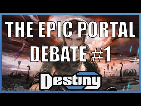 The epic and insane portal debate - Part 1