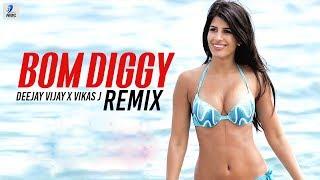 Bom Diggy (Remix) | Zack Knight | Jasmin Walia | Deejay Vijay X Vikas J