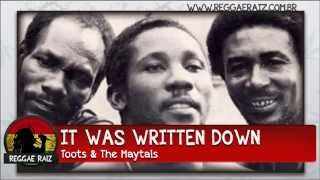 Toots & The Maytals - It Was Written Down
