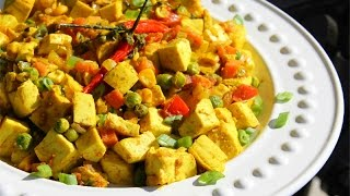 Vegetarian Curry Tofu Recipe (soya Curry , Bean Curd Curry) Chris De La Rosa