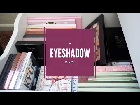 """Eyeshadow Palette"" Makeup Collection 2017♥"