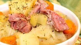 Ham Hocks and Cabbage