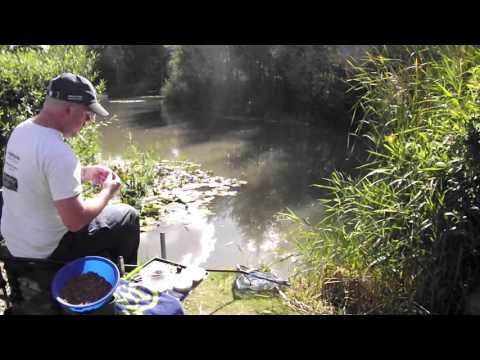 Fishing Ground Bait For Carp At Oakland Waters