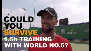 Training With Kevin Anderson - Part 2   Rolex Shanghai Masters 2018 (TENFITMEN)