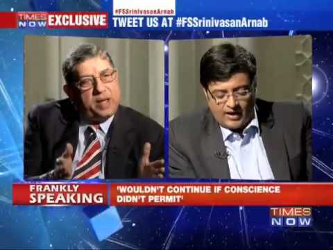 Frankly Speaking with N Srinivasan - Part 2