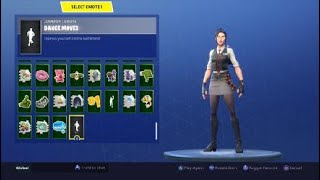 Fortnite season 5 tier 87 skin - Rook showcased with 50+ emotes/dances!!