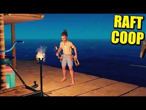 RAFT COOP - AMPLIANDO LA BALSA... TERRACITA BUENA | Gameplay Español