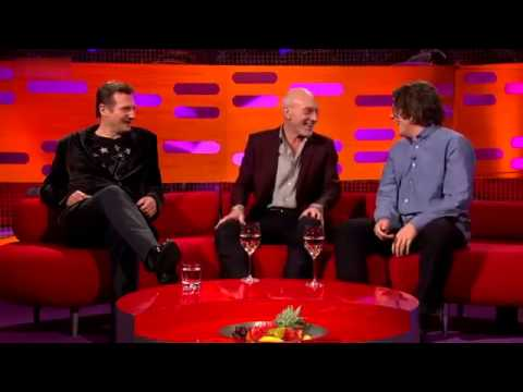 The Graham Norton Show S10x14 Liam Neeson, Alan Davies, Patrick Stewart, Ed Sheeran Part 1