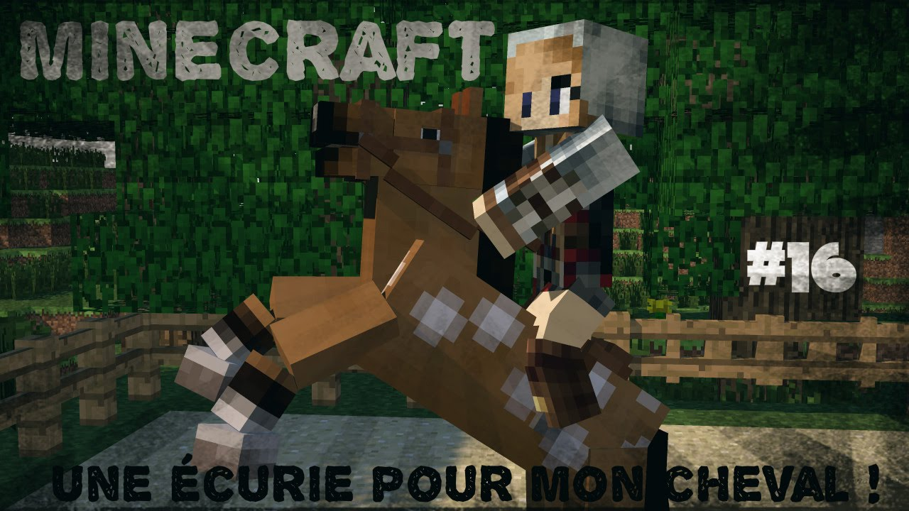 Minecraft 16 une curie pour mon cheval youtube - Cheval minecraft ...