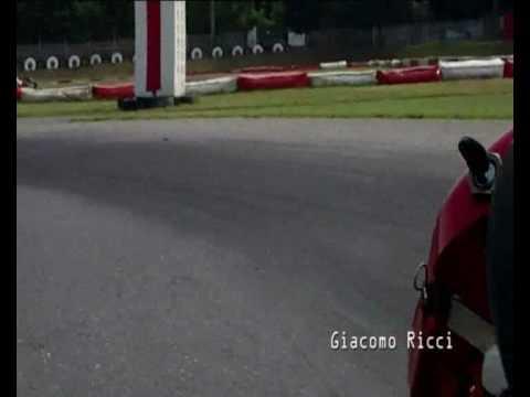 fai un giro in KART con Giacomo Ricci driver GP2 auto
