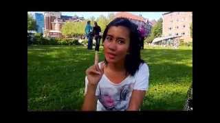 Travel Talk ID: In Front of St.Michael Church, Hamburg, Jerman with Intan Wibisono, Summer 2013