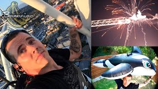 Steve O Arrested For Sea World Climbing Stunt