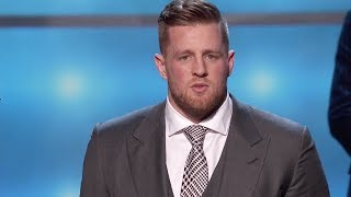 JJ Watt Wins 2017 Walter Payton Man of the Year Award | 2018 NFL Honors