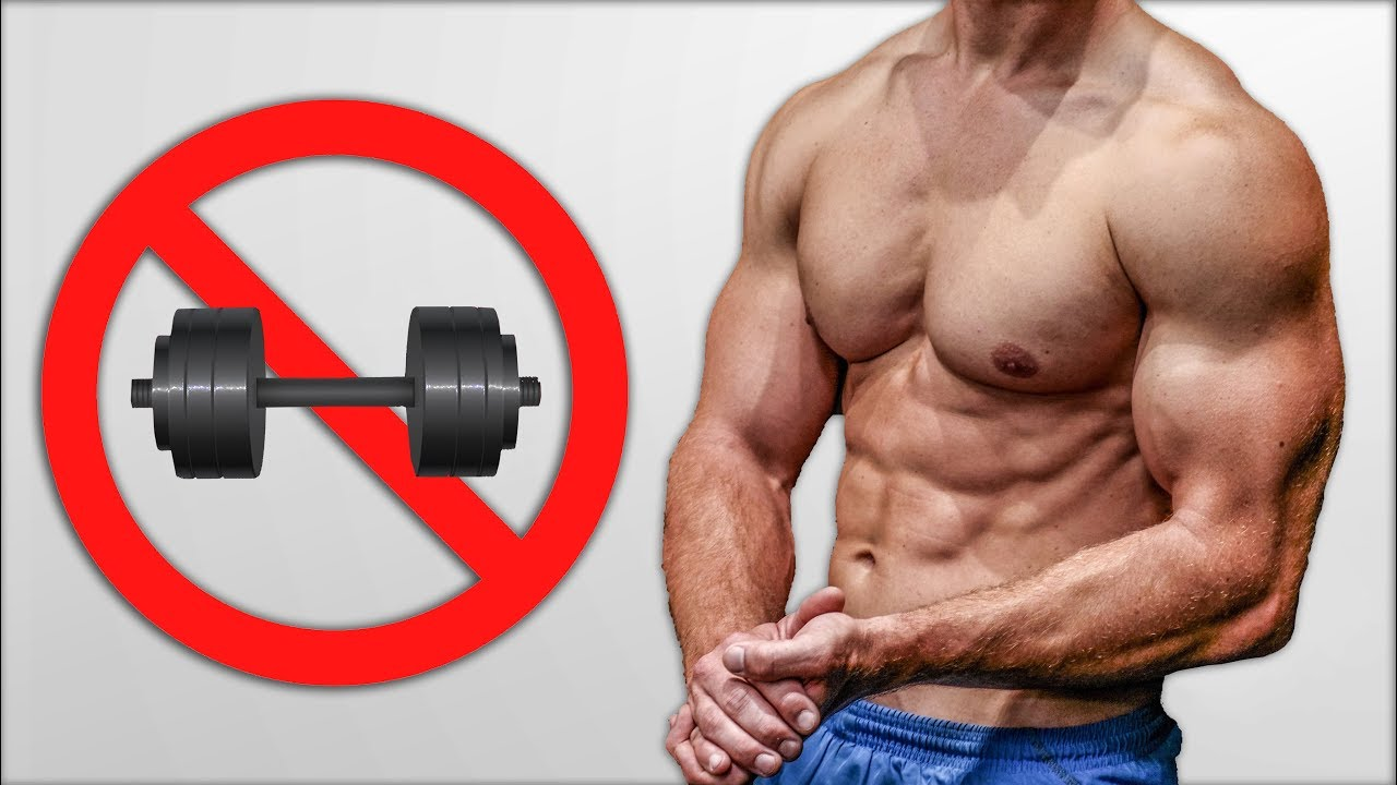 The BEST Chest Workout Without Weights!