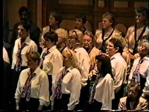 Cantabile Singers of Adelaide - Hold On (Adelaide Town Hall, November 2000)