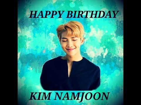 HAPPY BIRTHDAY KIM NAMJOON 🎉🎂🎉