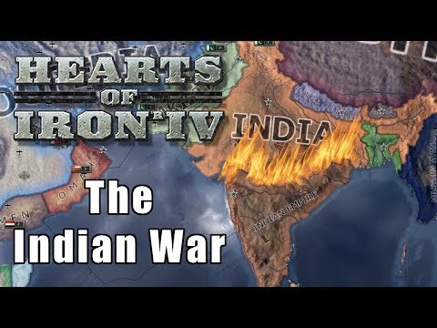 THE INDIAN WAR | Vooperian Empire #10 | Hearts of Iron 4
