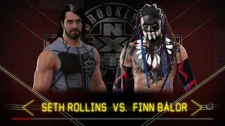 WWE 2k17 - Seth Rollins VS Finn Balor
