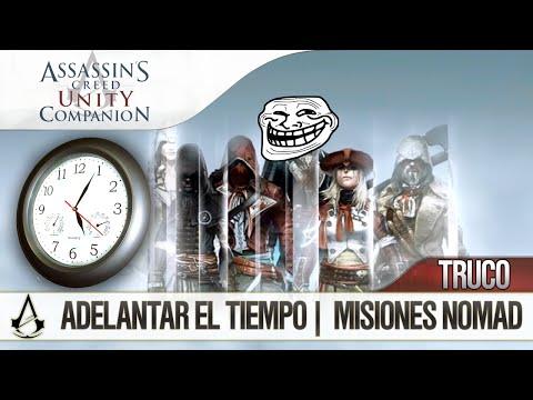 Assassin's Creed Unity Companion APP | TRUCO | Completar Misiones Nomad Rápido | Avanzar el Tiempo