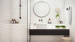 ★ TOP 40+ ★ White Subway Tile Bathroom Pictures bathroom ideas