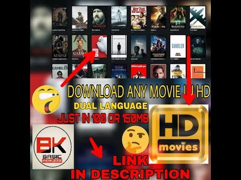 How To Download Any Movie In Just 100mb||Full Hd||Dual Language ||Link In Description