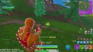 Fortnite - 1v4 Clutch against CiccioGamer89