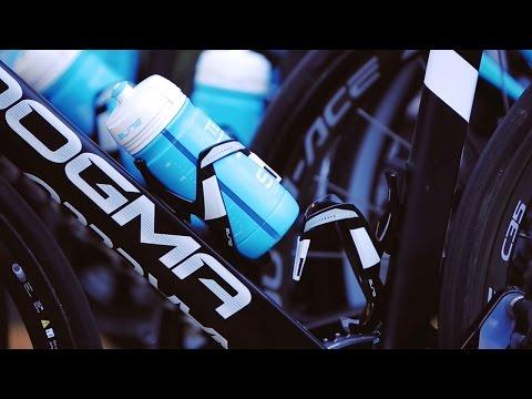 Elite Custom Race Plus bottle cage black glossy//orange