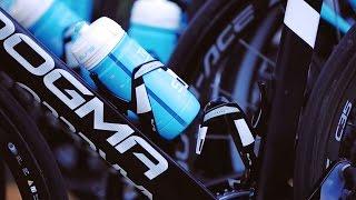 Elite Custom Race Bottle Cage Black//Blue