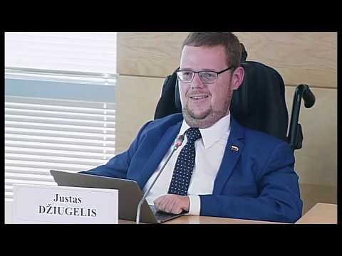 """2019-07-01 Seimo nario Justo Džiugelio spaudos konferencija """"Švietimo įstatymo keitimo būtinybė"""""""