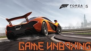 Game Unboxing - Forza Motorsport 5 [Limited Edition, Day One]