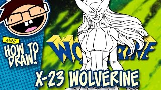 How to Draw X-23 / ALL-NEW WOLVERINE (Comic Version)   Narrated Easy Step-by-Step Tutorial