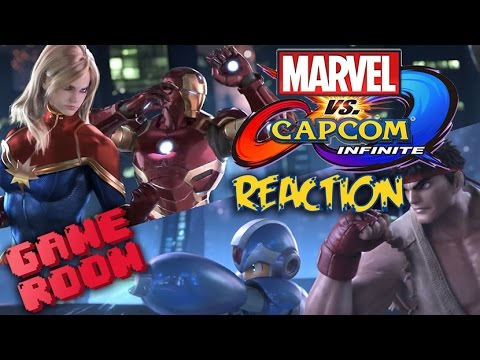Marvel Vs Capcom Infinite Reaction and Theories - Game Room