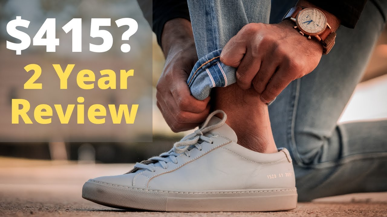 Are Common Projects WORTH $415 in 2020? - 2 Year Review (3 Colors)