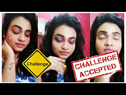 Draw me a makeup look challenge | Bonhomie Tales