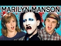 watch he video of TEENS REACT TO MARILYN MANSON