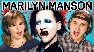Video TEENS REACT TO MARILYN MANSON download MP3, 3GP, MP4, WEBM, AVI, FLV Maret 2018