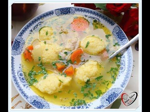 Bakina kuhinja -kako napraviti pileću supu sa knedlama
