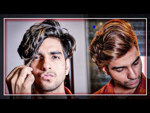 black-to-caramel-brown-transformation|-caramel-brown-hair-color-for-men|-lakshay-thakur
