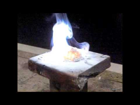 Quick Chemistry #4 - Zinc And Sulfur