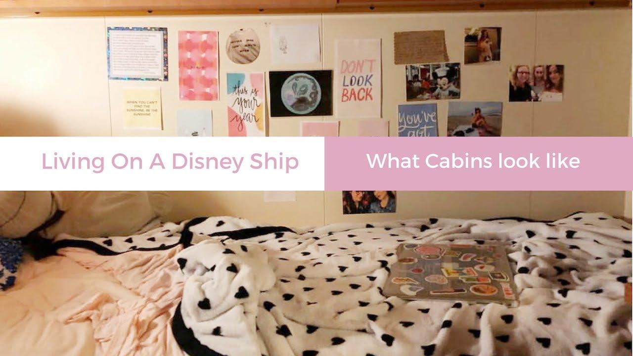 CREW CABIN TOUR ON A DISNEY SHIP