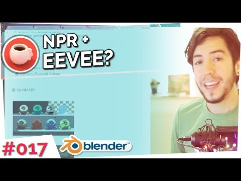 NPR with EEVEE! – Blender Today Live