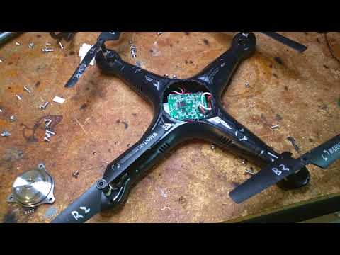 Troubleshooting A Drone (Propellors, Motors, Gears, Boards)