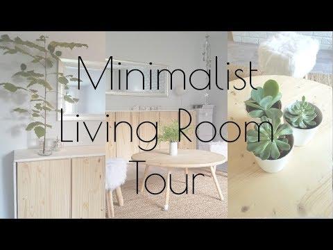 MINIMALIST LIVING ROOM TOUR/ RENOVATION REVEAL