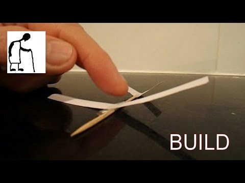 how to make glider plane at home