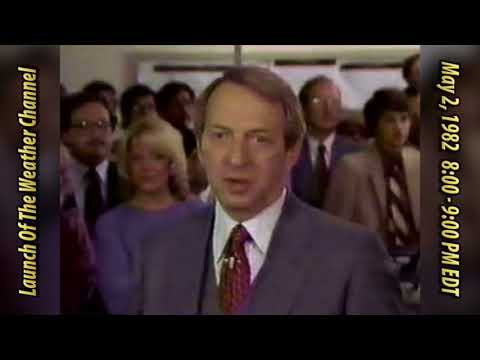 The Weather Channel Launch - May 2, 1982