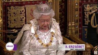 II. Erzsébet királynő megnyitotta a brit parlament új ülésszakát