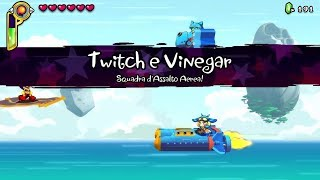 Shantae Half Genie Hero - Twitch & Vinegar (Boss fight #04 )