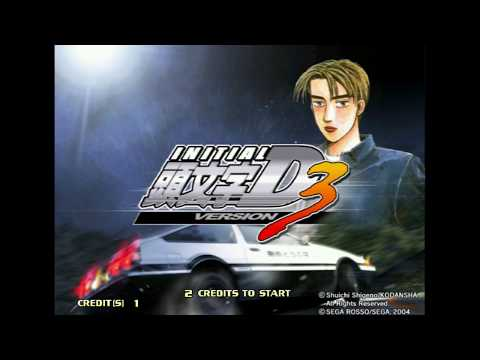 Initial D Arcade Stage Ver. 3 Full Story Game Play (Export/Eng) [DEmul] [Able To Save Multiple Cars]
