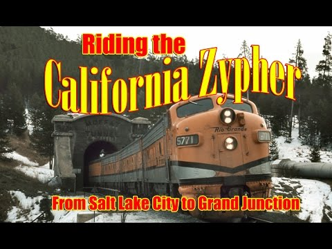 Riding the California Zephyr