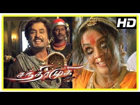 Chandramukhi Tamil Movie | Jyothika Terrific Performance in Climax Scene | Rajinikanth | Nayanthara